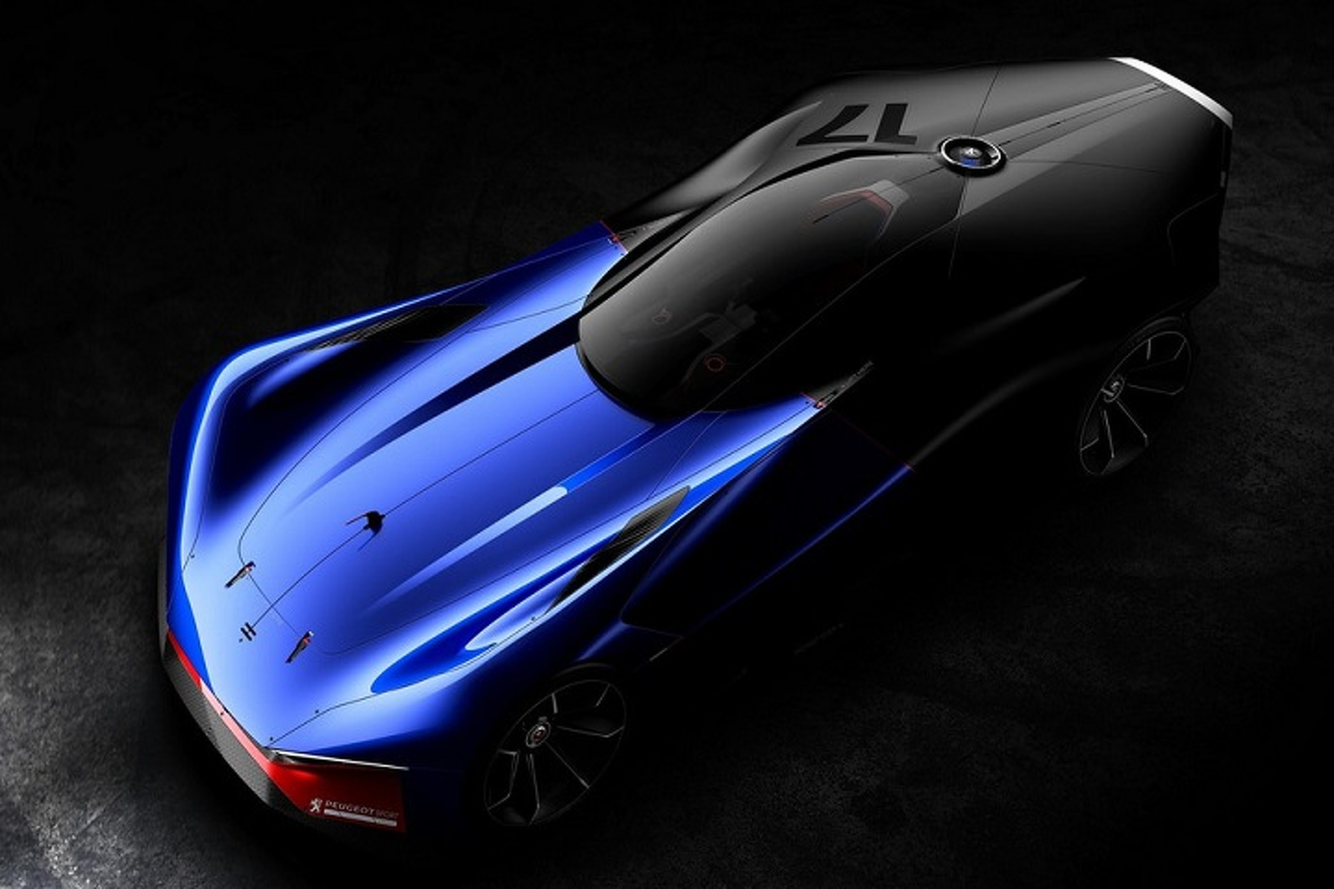 Peugeot Dished Out a Delicious Hybrid Sports Car Concept
