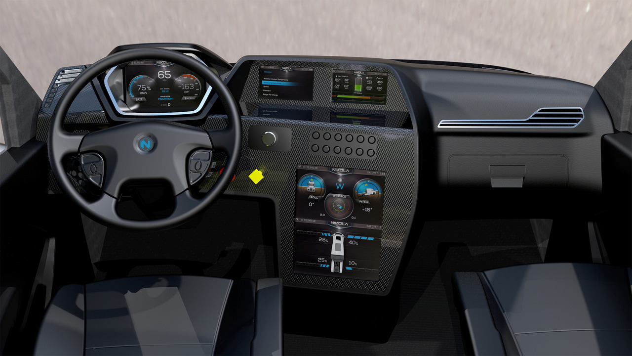 Nikola One Electric Semi Truck