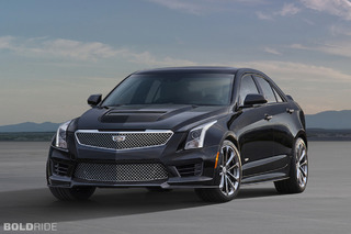 Cadillac ATS-V Sedan Gets More Power, More Angles
