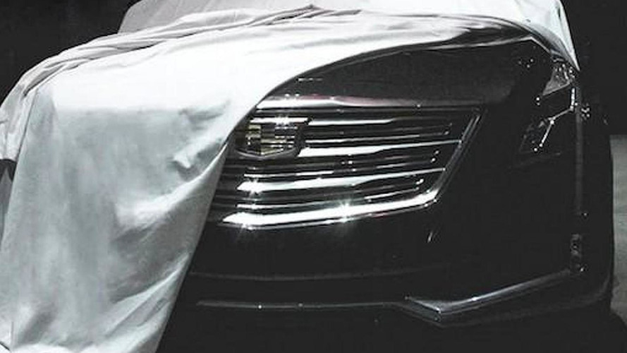 2016 Cadillac CT6 teased one last time ahead of today's reveal