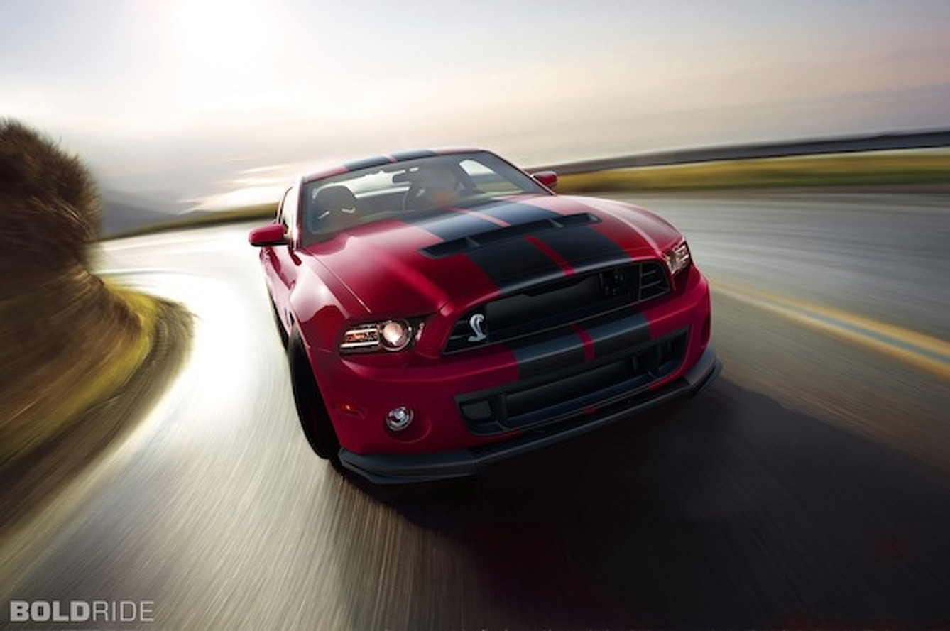 2014 Mustang Shelby GT500 Gets Minor Adjustments, New Colors