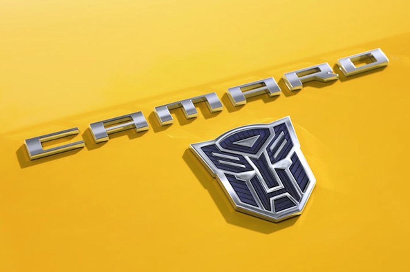 Meet the 2014 Camaro Bumblebee Concept from Transformers 4