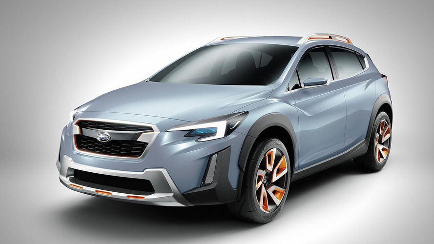 Subaru XV Concept previews next Crosstrek in Geneva