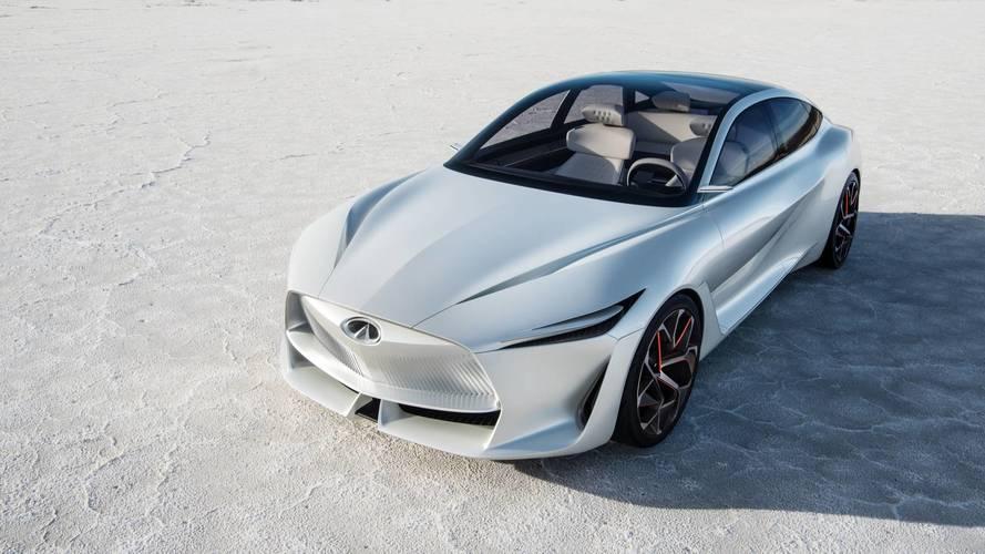 Infiniti, tamamen elektrikli ilk modelini 2021'de sunacak