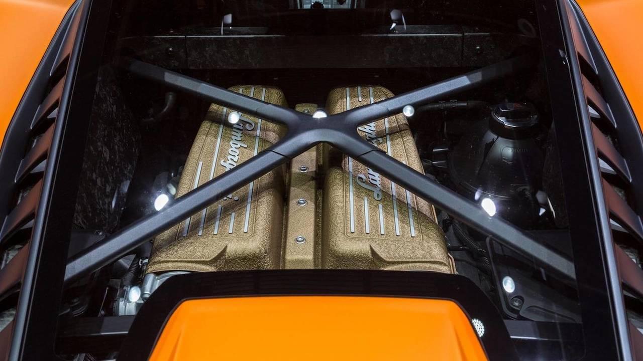 10 cylindres - Moteur V10 5,2 L de Lamborghini