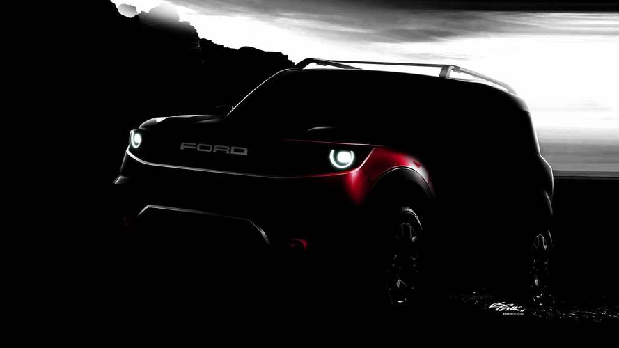 Ford Off-Road SUV Teaser