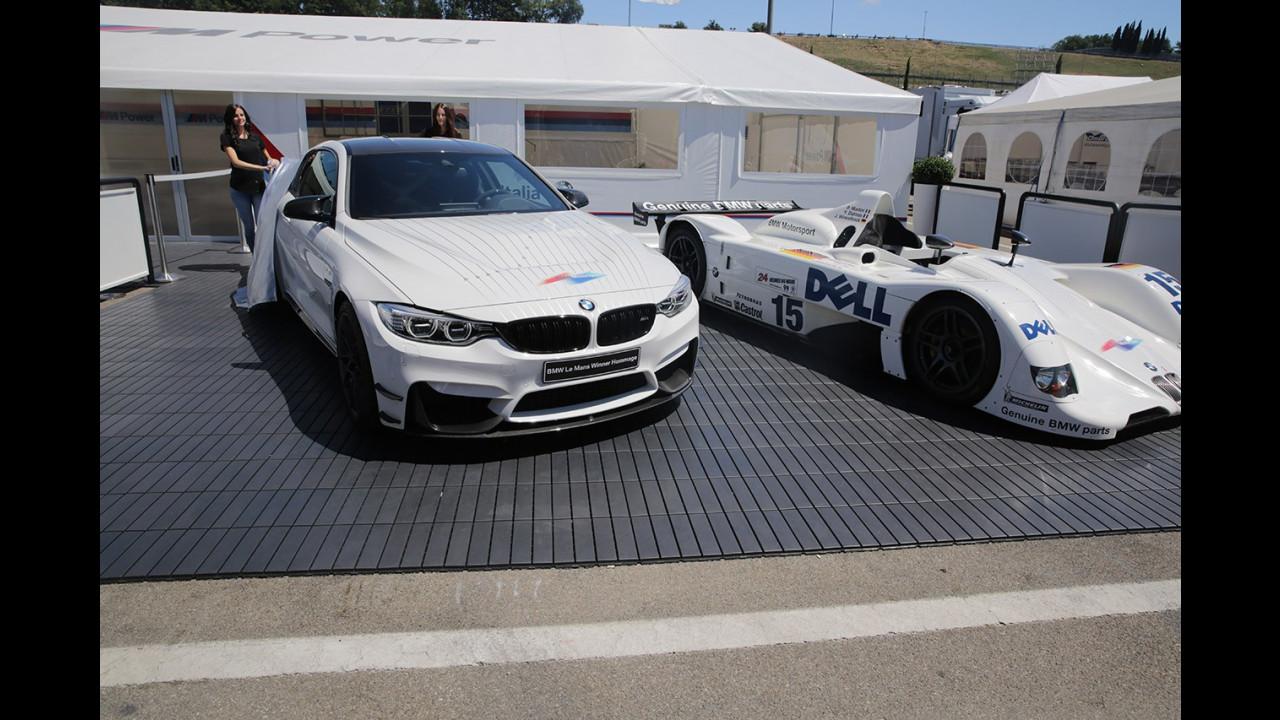 BMW Le Mans Winner Hommage, M4 GTS Pier Luigi Martini