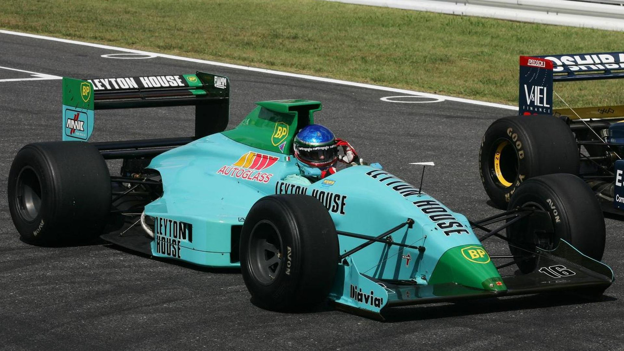 Ivan Capelli with Leyton House 08.10.2006 Japanese Grand Prix