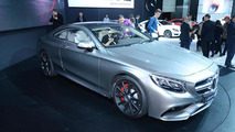 Mercedes S63 AMG Coupe live in New York