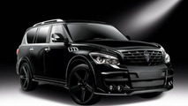 Infiniti QX80 gains sinister look from LARTE Design