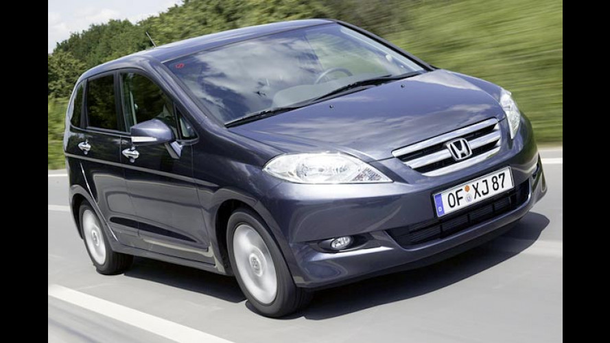 Honda FR-V: Sechssitziger Minivan auf Basis des CR-V