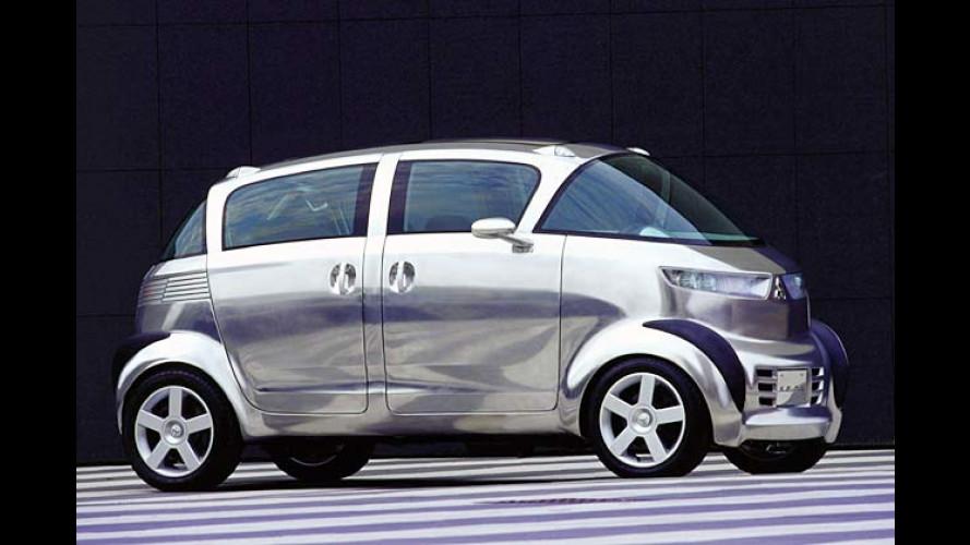 Mitsubishi SE RO: Studie mit Mittelmotor und Heckantrieb