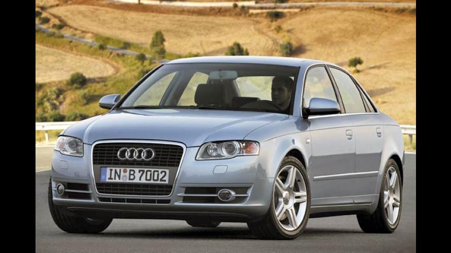 Audi wird stärker: Zweiliter-TFSI powert mit mehr Leistung