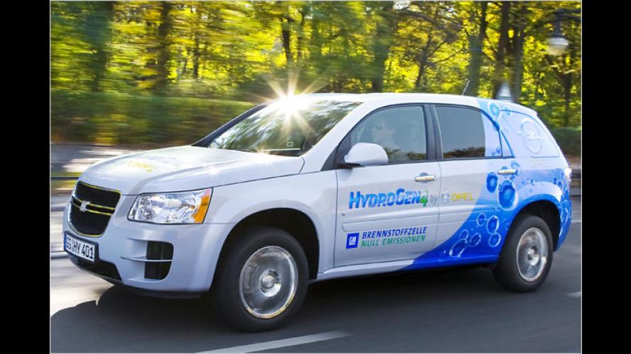 Opel startet Brennstoffzellen-Fahrzeugflotte in Berlin