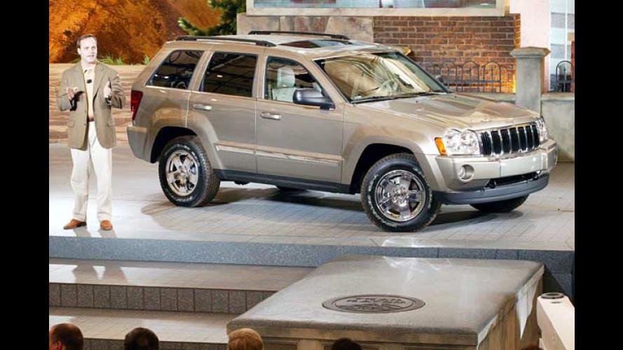 Des Häuptlings neue Kleider: Jeep Grand Cherokee für 2005