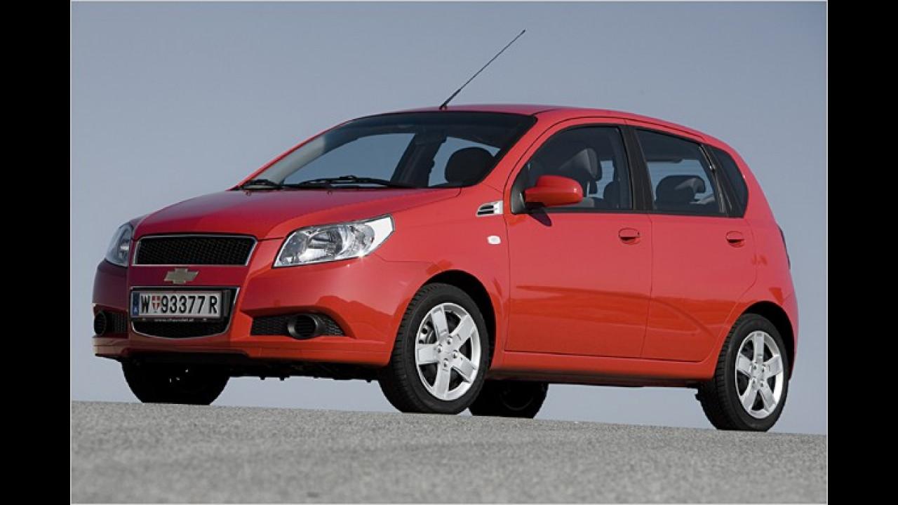 Test: Chevrolet Aveo