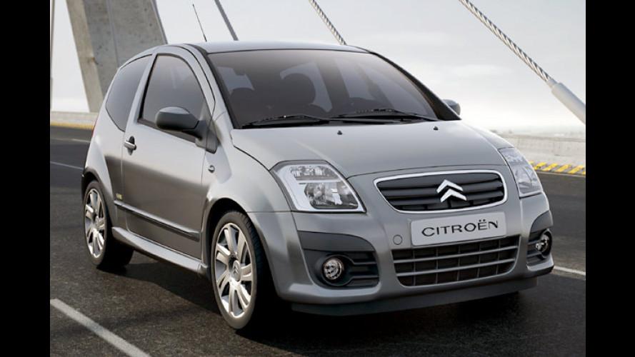 Citroën C2: Schnittiger Franzosenflitzer bekommt ein Facelift
