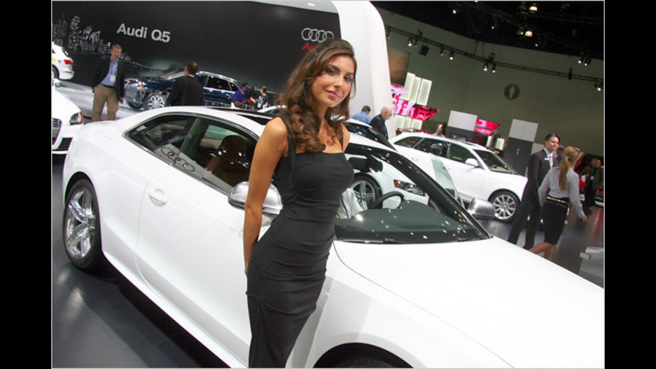 Ja, Audi hatte wirklich schöne Ausstellungsstücke mitgebracht