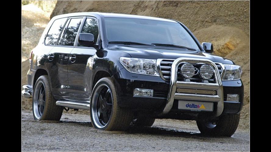Tuner Delta4x4 veredelt den Toyota Land Cruiser V8