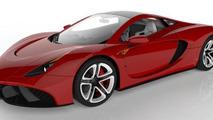 Askaniadesign Carstyling Studio supercar project
