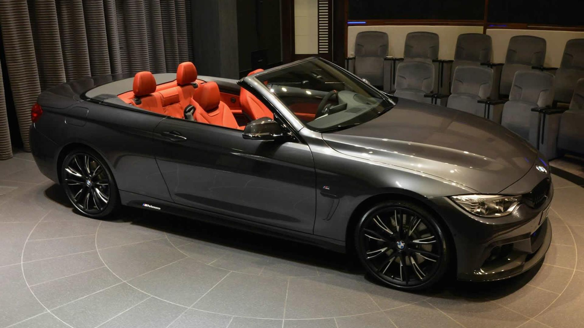 bmw 4 series convertible pampered with the m performance package. Black Bedroom Furniture Sets. Home Design Ideas