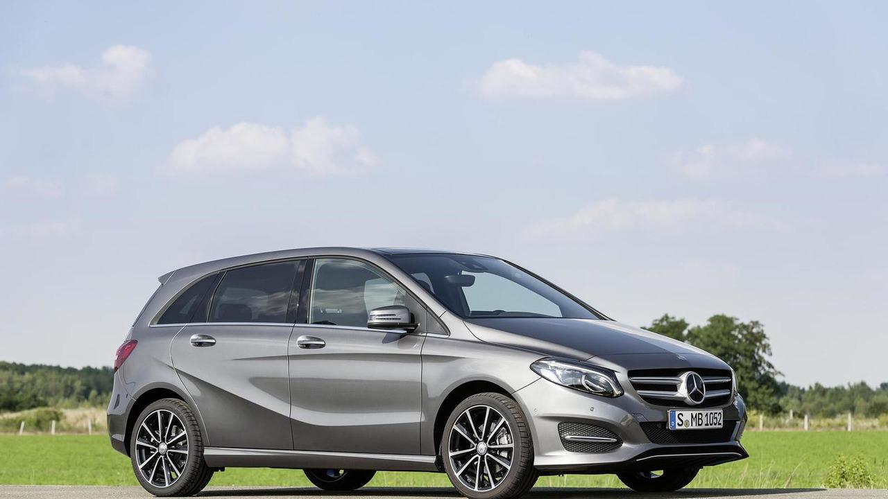 2015 Mercedes-Benz B-Class facelift
