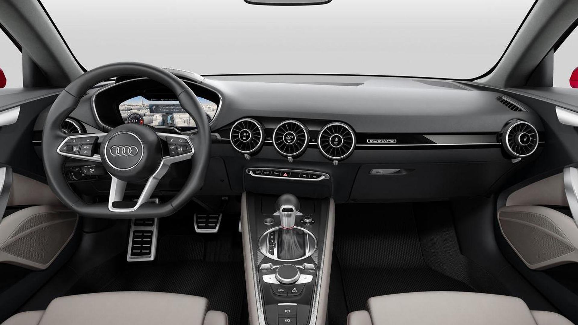 Салон Audi TT Sportback Concept 2014