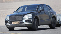 2016 Bentley Bentayga spy photo