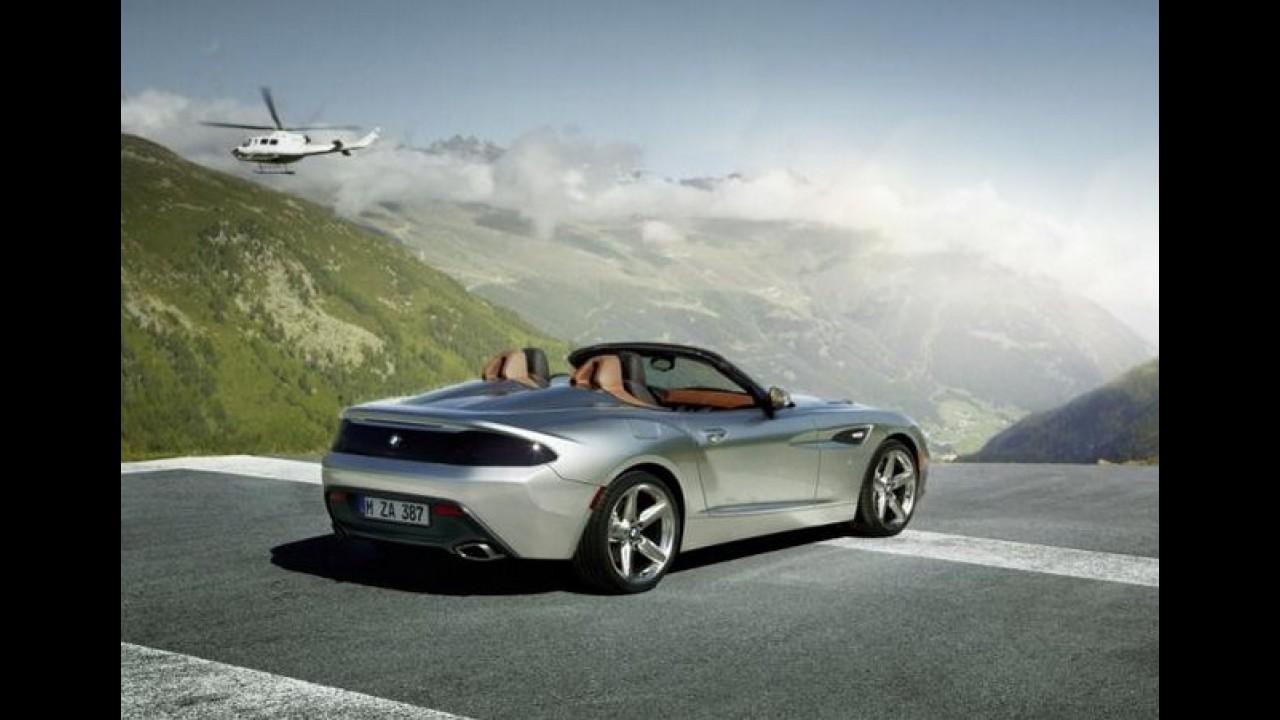 BMW Z4 Zagato Roadster é revelado em Pebble Beach