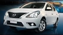 Nissan Versa reestilizado na Tailândia antecipa visual do modelo brasileiro