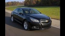 Versão SS a caminho? Chevrolet confirma novo motor turbo para o sedã Malibu