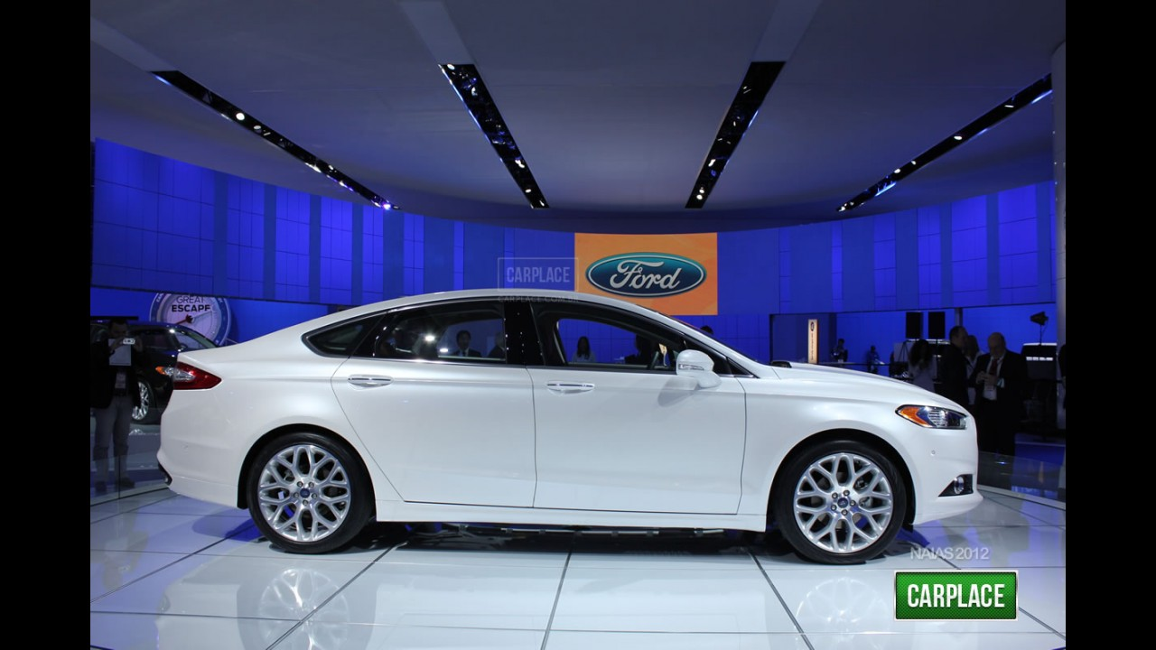 Direto de Detroit: Fotos do Novo Ford Fusion 2013