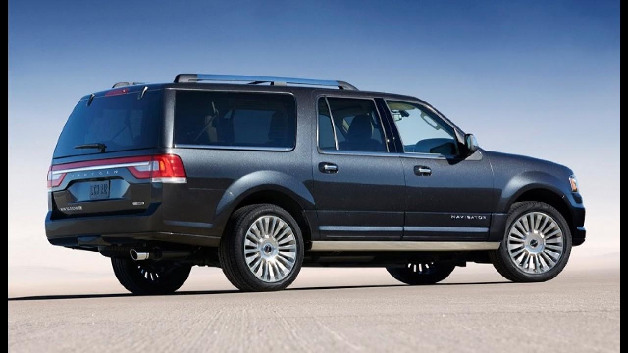 Menos 1 tonelada! Próximo Lincoln Navigator deve adotar carroceria de alumínio