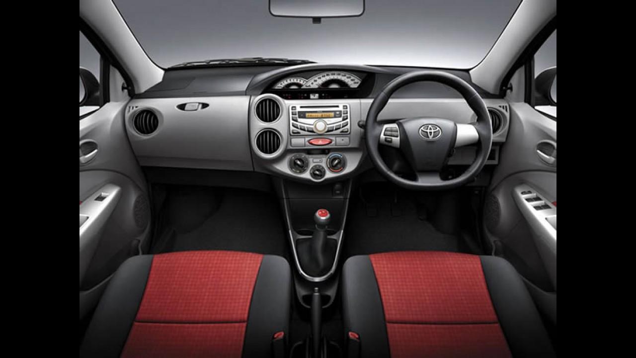 Toyota Etios é lançado na África do Sul