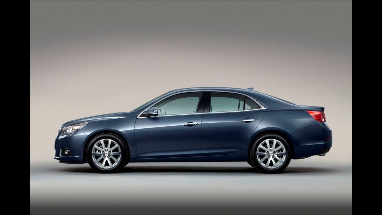Chevrolet Malibu recebe motor 1.6 Turbo na China