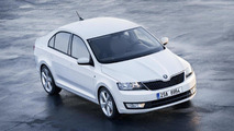 2013 Skoda Rapid Euro spec first photos 19.06.2012