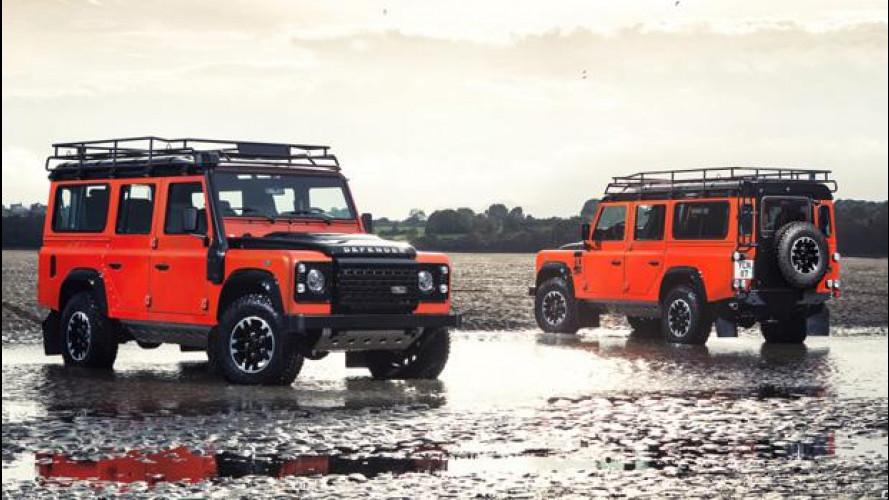 Land Rover Defender, le serie speciali dell'addio