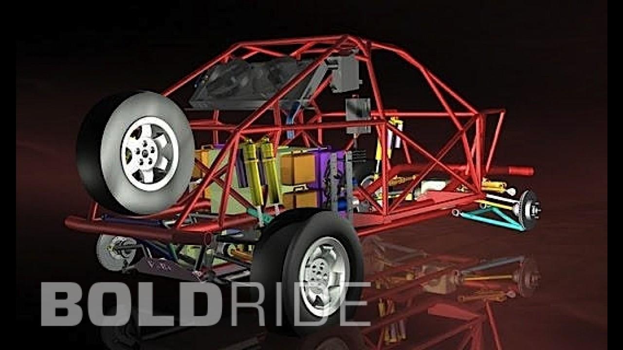 Land Rover Range Rover Evoque Dakar Rally by RaBe