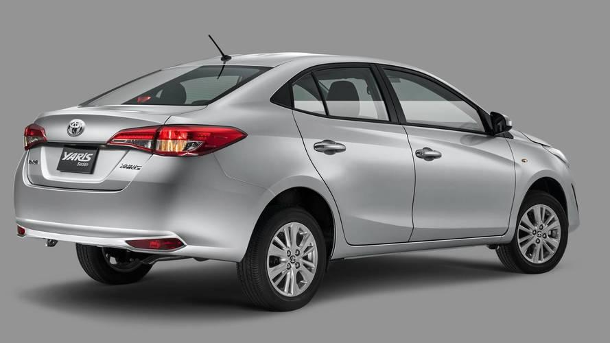 Registro confirma Toyota Yaris Sedan no Brasil