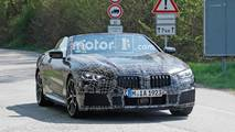BMW 8 Series Convertible Spy Shots