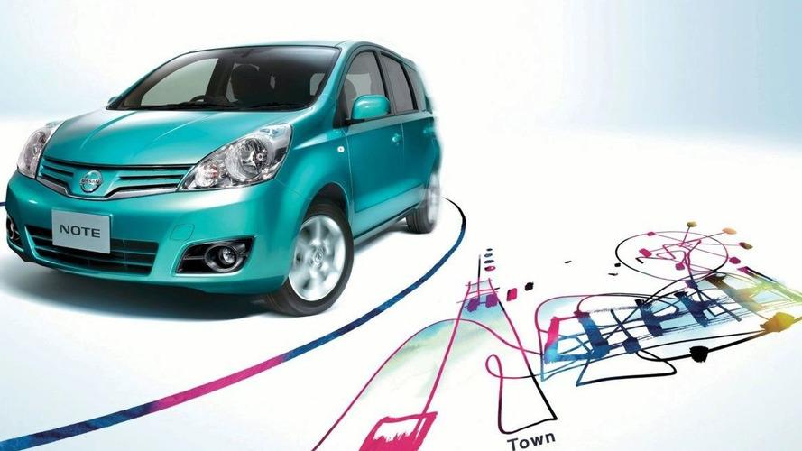 Nissan Note Facelift Revealed (JA)