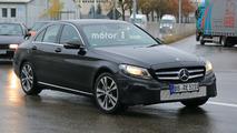 2018 Mercedes-Benz C Sınıfı casus fotoğrafları