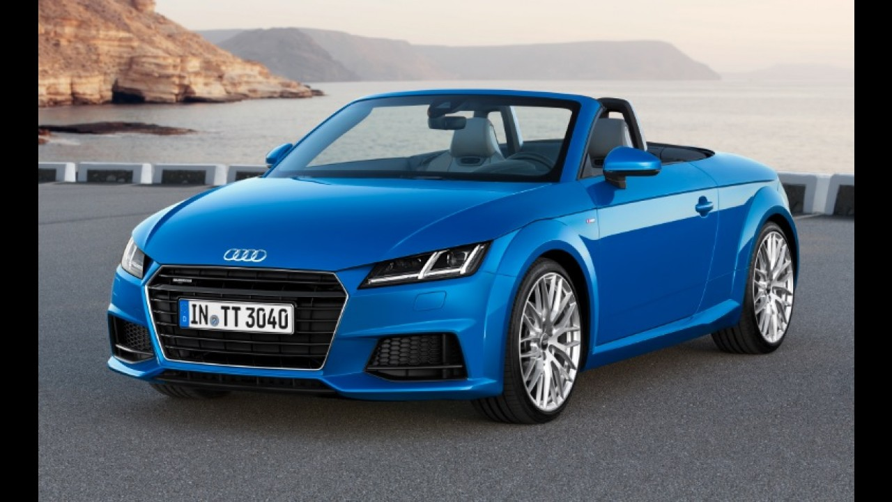 Audi TT ganha versão de entrada com motor 1.8 de 180 cv
