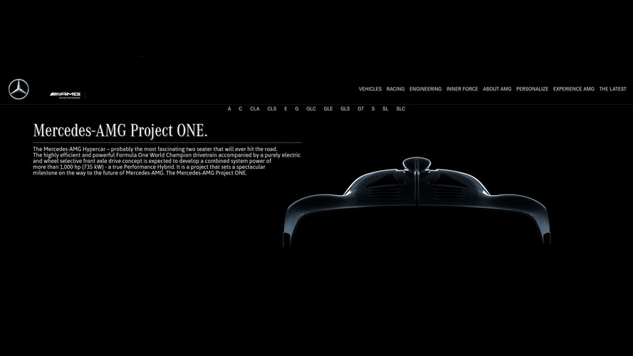 Hipercarro Mercedes-AMG tem nome oficial: Project One