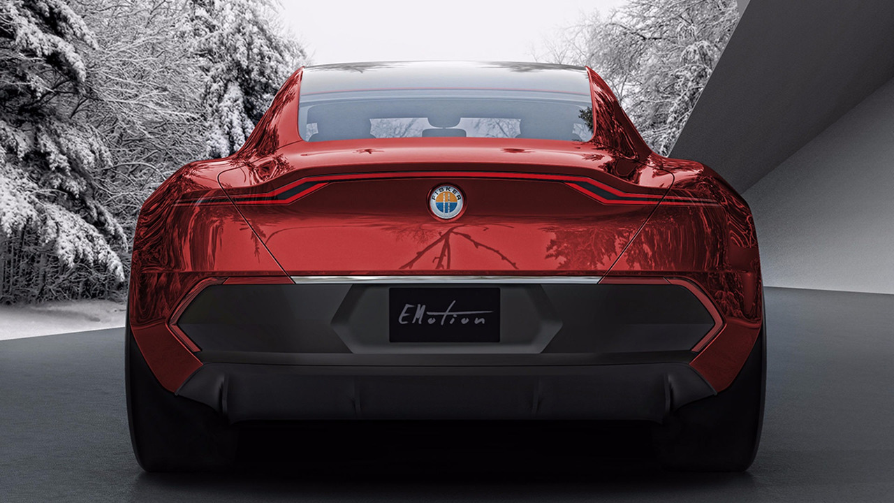Fisker EMotion rear view
