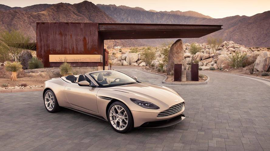 Novo Aston Martin DB11 Volante 2018 é caso de amor à primeira vista