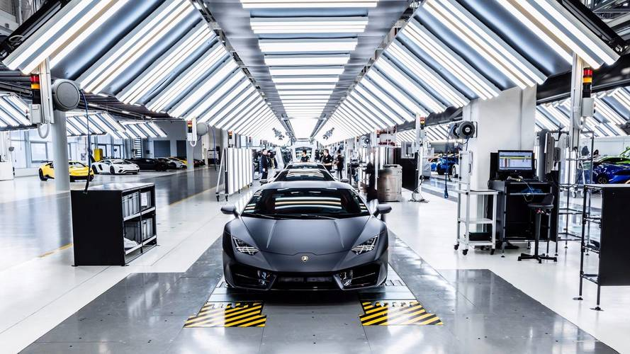 L'usine Lamborghini double de volume pour l'Urus