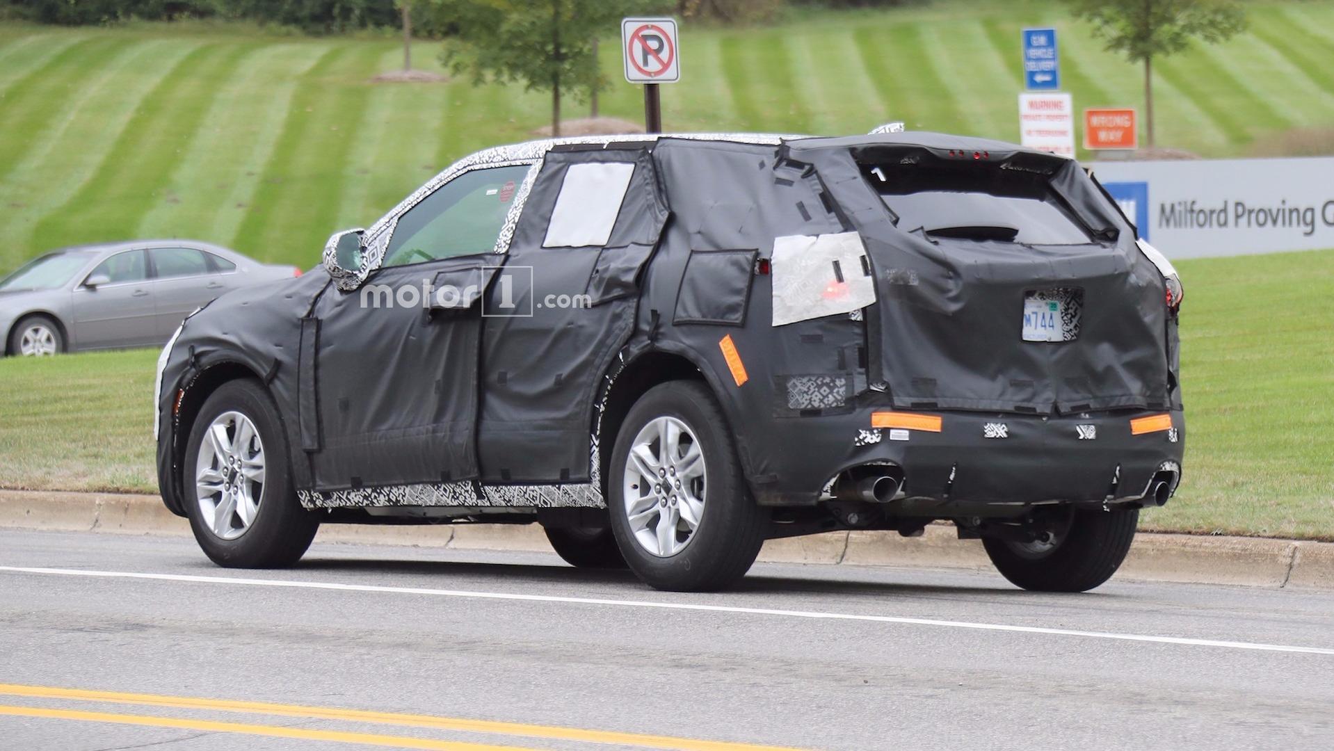 2018 - [Chevrolet] Blazer 2019-chevy-blazer-spy-photos