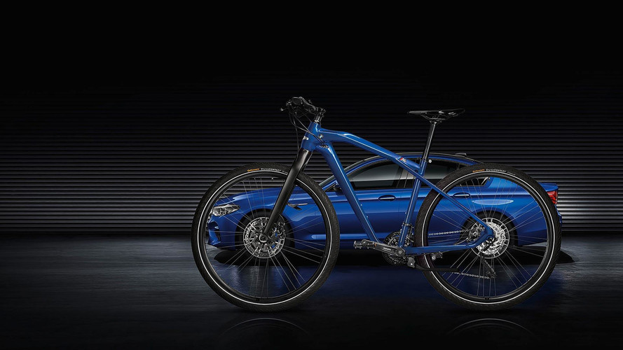 Marina Bay Blue BMW M Bike Limited Carbon Edition Matches Your M5