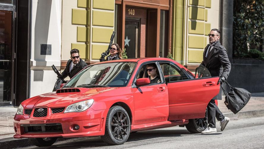 Eladó a Nyomd, bébi, nyomd című filmben használt Subaru WRX